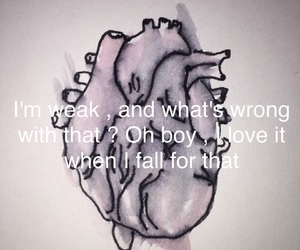 drawling, paint, and songquote image