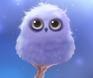 owl, apofiss, and art image