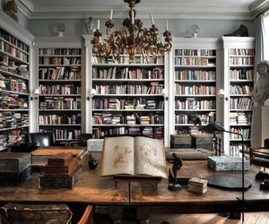 beautiful, home, and books image