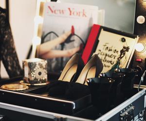 dress, magazines, and new york image