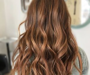caramel, hair, and hairstyle image