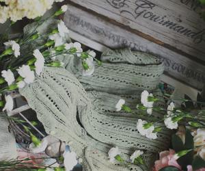 flower, vintage, and magazines image