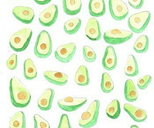 avocado, background, and green image