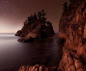 nature, night, and rocks image