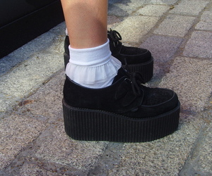 creepers, shoes, and socks image