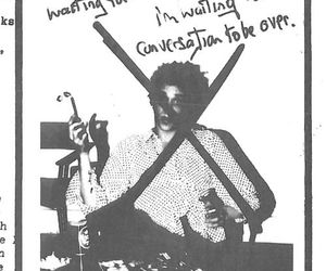 70's, richard hell, and television image