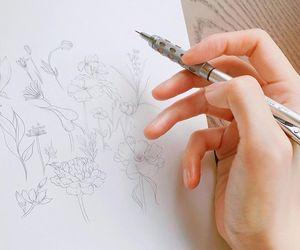 draw, aesthetic, and henn kim image