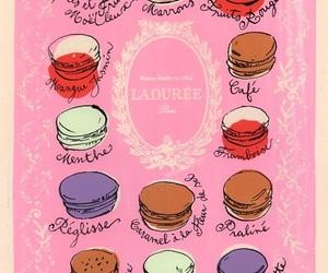 laduree, paris, and pink image