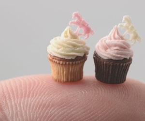 cupcake, cupcakes, and miniature image