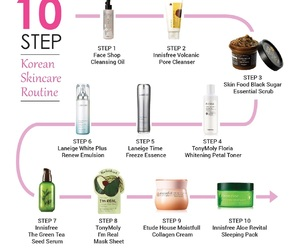 beauty, cleanse, and cosmetics image