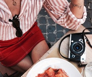 fashion, outfit, and pasta image