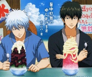 gintama, anime, and hijikata image