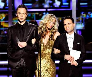 penny, sheldon, and tbbt image