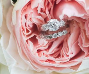 jewelry, rings, and wedding image