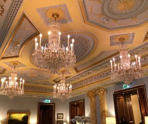 beauty, chandelier, and decor image