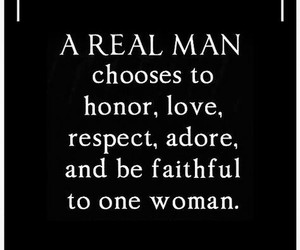 adore, honor, and man image