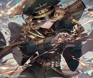 anime, manga, and youjo senki image