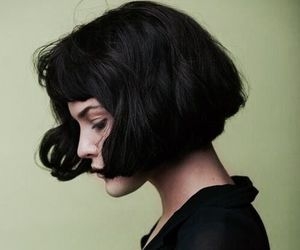 hair style, black short hair, and inspiration image