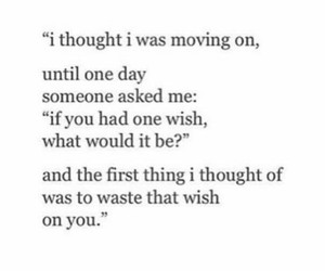 quotes, breakup, and love image
