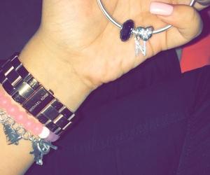 bracelet, girl, and Michael Kors image
