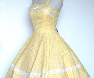 50's, dress, and dresses image