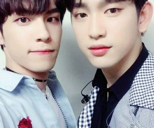 jinyoung, got7, and day6 image