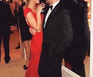 couple, Jason Statham, and model image