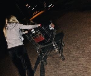 badass, blurry, and cart image