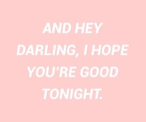 quotes, darling, and words image