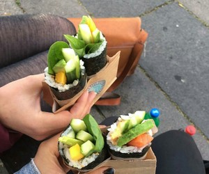carefree, food, and healthy image