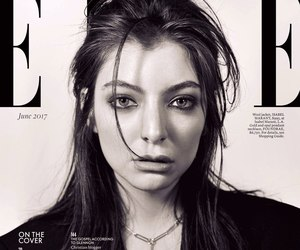 Elle, ️lorde, and magazine cover image