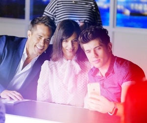 carter jenkins, perrey reeves, and shawn christian image