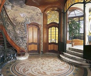 decor, entrance, and home image