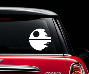 death star, etsy, and Vinyl Decal image