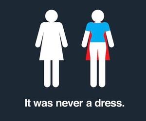 woman, dress, and superwoman image