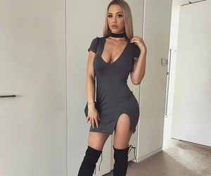 boots, heels, and outfit image