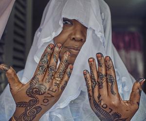 africa, wedding, and henna image