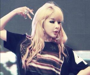 2ne1, bom, and blonde image