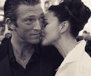 love, couple, and monica bellucci image