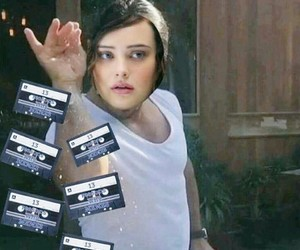 13 reasons why, tapes, and funny image