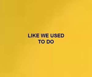quotes, yellow, and indie image