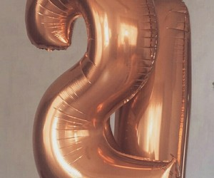alternative, balloons, and gold image