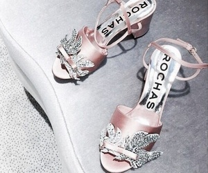 shoes and rose gold image