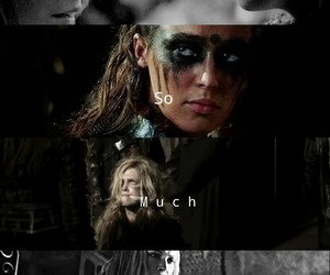 clarke griffin, t100, and clexa image