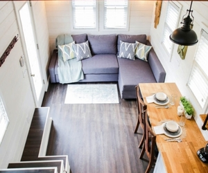 living rooms, tiny house, and tiny designs image