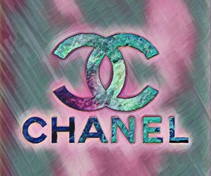 blue, chanel, and pink image