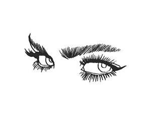 eyes, art, and black image