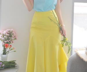 kfashion, top, and long skirt image
