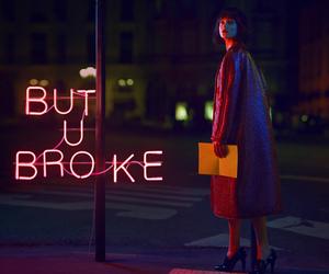 neon, broke, and glow image