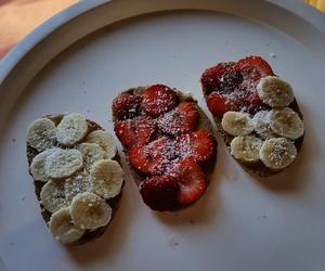 bananas, food, and breakfast image
